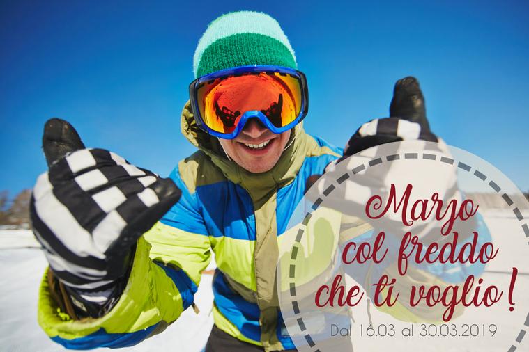Skifahren im März