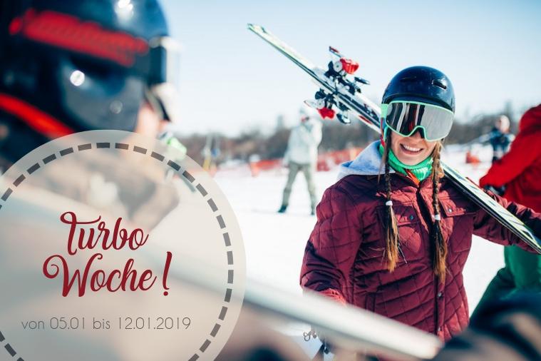 Turbo Woche! Skifahren im Januar