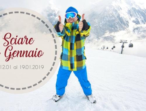Sciare a gennaio